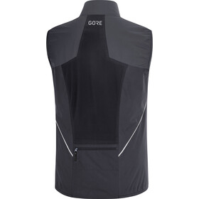 GORE WEAR R7 Partial Gore-Tex Infinium bodywarmer Heren, black/terra grey